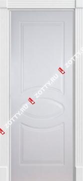 Дверь белая ДГО (серия Ампир)