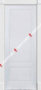 Дверь белая ДГП 3D (серия Ампир)