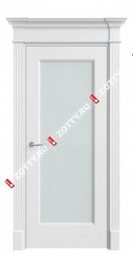 Белая эмаль Порта 2 ДО (цельное стекло)