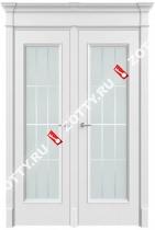 Дверь двустворчатая Порта 2 ДО (с багетом)