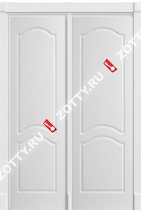 Двери двустворчатые Белая Арка