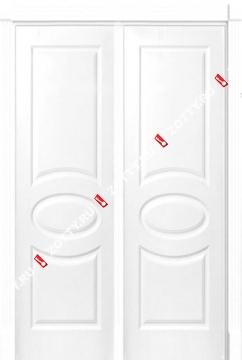 Дверь двустворчатая Олимп