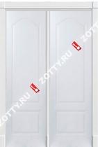 Белая дверь ДГА 3D двустворчатая