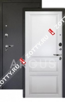 Сейф-дверь Аргус «КАРОЛИНА» ЛЮКС ПРО 3К, Эмаль белая/чёрный шёлк