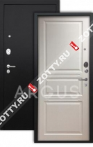 Сейф-дверь Аргус «ДЖУЛИЯ» ЛЮКС ПРО 3К, Белый жемчуг/чёрный шёлк