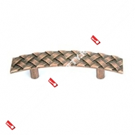 Мебельная ручка Loid мод. 711 (96мм) (Бронза/медь)