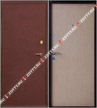 Металлические двери Valberg OPTIMA