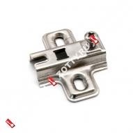 Подкладка для петли H-0 c квадр. отверстием FGV (Хром)