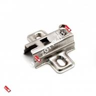 Подкладка для петли H-4 c квадр. отверстием FGV (Хром)