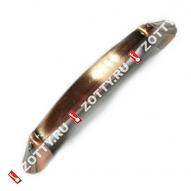 Ручка-скоба мебельная LOID АЛЬФА 96мм AС (Медь)