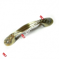 Ручка-скоба мебельная LOID 403 96мм AB (Бронза)